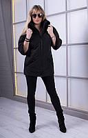 Модная весенняя куртка — свободного покроя, с отделкой из камней MARKIZA Разные цвета