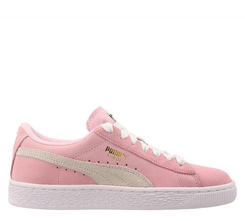 Женские кроссовки Puma Suede Jr Pink Lady