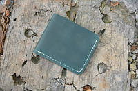 Мужской бумажник классика компакт 3000 (зеленый)