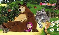 """Вафельная картинка """"Маша и медведь"""" - 2"""
