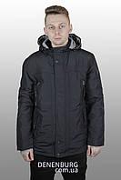 Куртка мужская демисезонная ZPJV ZC-A135 тёмно-синяя, фото 1