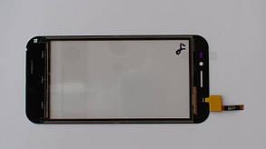 Сенсорная панель (тачскрин) Nomi i451 Twist  чёрная, фото 2