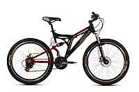"""Велосипед Ardis Reason AMT 26"""" / рама 18,5"""" (черный/красный)"""