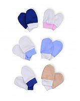 Детские варежки для новорожденных (царапки, рукавички, антицарапки)