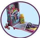 """Детский дорожный чемодан на колесах """"Смурфики"""", гномики, фото 2"""
