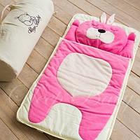 Слипик детский Sleep Baby 120x60 Розовый заяц. Бесплатная доставка!