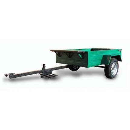 Причіп до мотоблока АМС-01 , розмір кузову 1700х1170х340мм, г/п 300 кг, фото 2