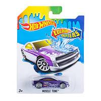 Машинка хот вилс меняет цвет hot wheels colour shifters muscle tone dkf90 mattel