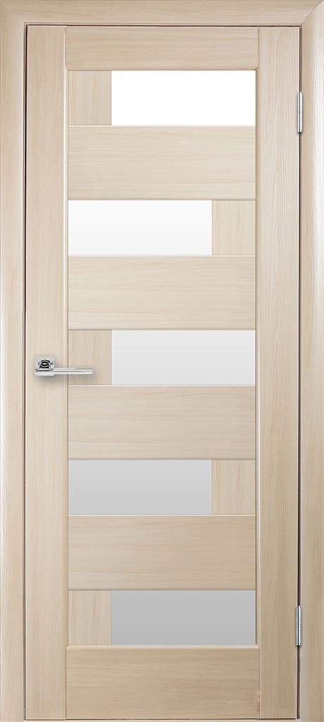 Межкомнатные двери Новый Стиль Пиана белое стекло