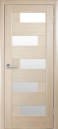 Межкомнатные двери Новый Стиль Пиана белое стекло, фото 2