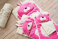 Слипик детский Sleep Baby 170x70 Розовый заяц. Бесплатная доставка!