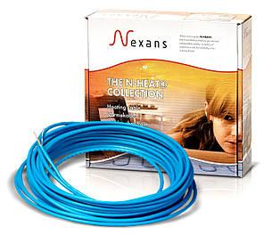 Теплый пол в стяжку под ламинат, кафель 2,4-2,9 м.кв. 400 Вт. Одножильный кабель Nexans. Гарантия 20 лет.