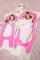 Слипик  Sleep Baby 200x90 Розовый заяц. Бесплатная доставка!