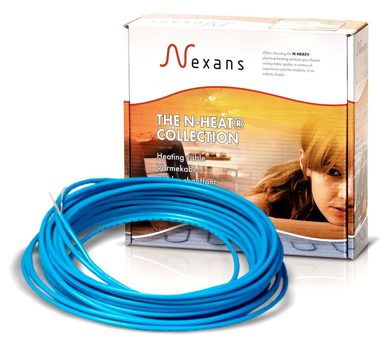 Теплый пол в стяжку под ламинат, кафель 3,5-4,4 м.кв. 600 Вт. Одножильный кабель Nexans. Гарантия 20 лет.