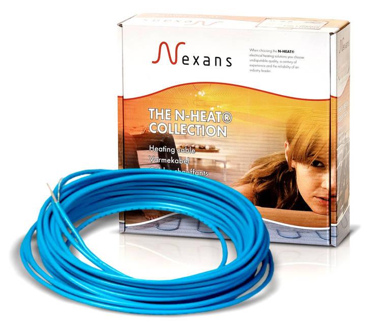Теплый пол в стяжку под ламинат, кафель 3,5-4,4 м.кв 600 Вт. Одножильный кабель Nexans. Гарантия 20 лет.