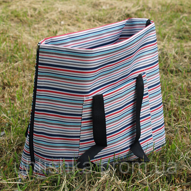 Пляжный коврик - сумка с водонипроницаемым дном