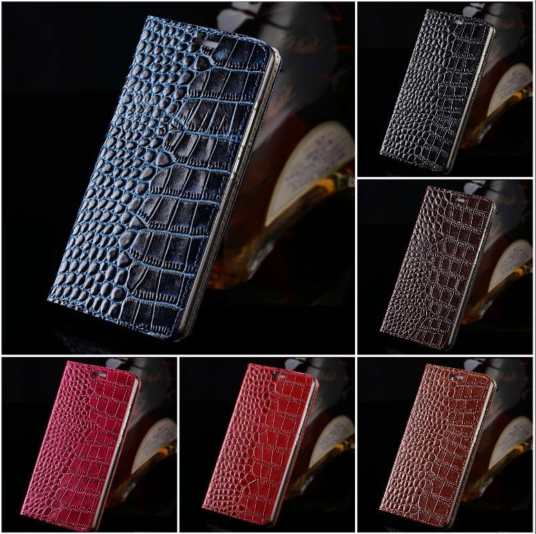 """SONY F5122 X оригинальный чехол книжка кожаный из натуральной ТЕЛЯЧЬЕЙ кожи для телефона """"LNGSD CROCO"""""""