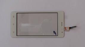 Сенсорная панель (тачскрин) Nomi i4510 BEAT M белая, оригинал!