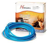 Теплый пол в стяжку под ламинат, кафель 7,4-9,2м.кв 1250Вт Одножильный кабель Nexans Гарантия 20лет