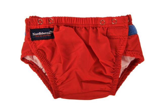 Трусики для плавания Konfidence Aquanappies, Цвет: Red, 3-30 мес, фото 2