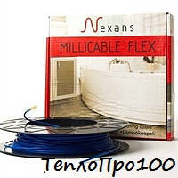 Теплый пол электрический-Nexans двужильный нагревательный кабель MILLICABLE FLEX 15 750 W