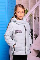 Детская короткая куртка на девочку Лиана