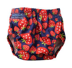 Трусики для плавания Konfidence Aquanappies, Цвет: Strawberry, 3-30 мес, фото 2