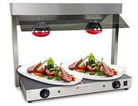 Поверхность тепловая стеклянная GGM Gastro International WPK75