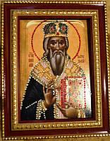 Икона из страз Святой Василий