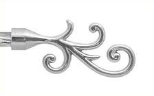 Декоративный наконечник Фала для кованого карниза 16 мм.