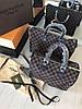 Стильная женская сумка LOUIS VUITTON SPEEDY DAMIER 30 см (реплика)
