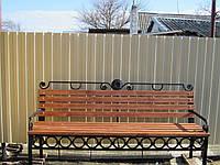 Кованая скамейка (Оксана)