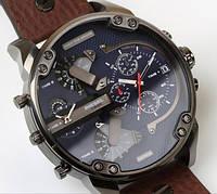 Брендовые мужские наручные кварцевые часы Diesel Brave (Дизель Брейв)