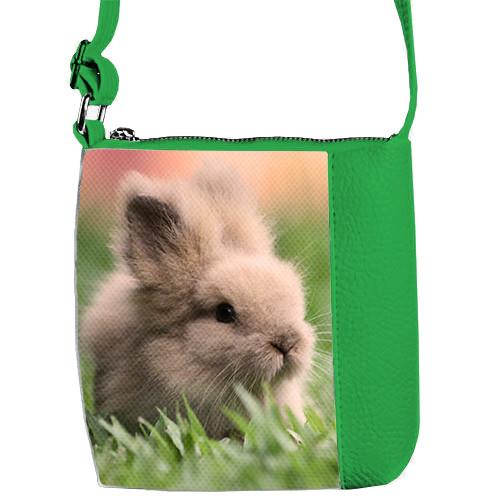 Детская сумка для девочки Mini Miss с принтом Кролик