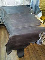"""Натуральная кожа КРС """"Крейзи-хорс"""", 3 сорт, цвет светло-коричневый"""
