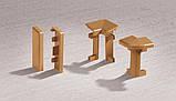 Заглушка права Сіра ДО ПЛІНТУСІВ DOLLKEN ДЛЯ КОВРОЛІНУ арт.77501000014600, фото 2