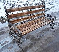 Кованая скамейка(Дуб)