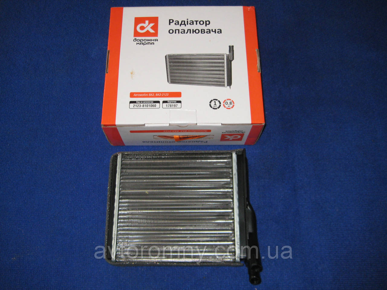 Радіатор пічки ВАЗ 2123 Шевроле Нива 2123-8101060 ДК