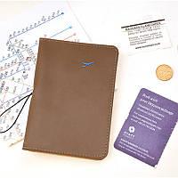 Обложка на паспорт коричневая, фото 1