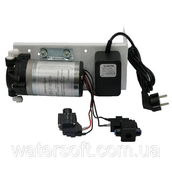 Помпа повышения давления WE-6005 в комплекте с подключениями