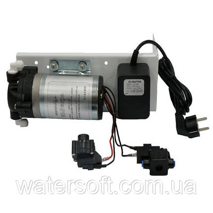Помпа повышения давления WE-6005 в комплекте с подключениями, фото 2