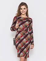 Cтильное крнасивое трикотажное платье  90228