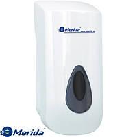 Дозатор жидкого мыла наливной 800 мл. Merida Top Серый