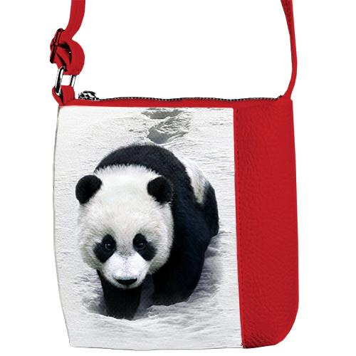 Красная сумочка для девочки Mini Miss Панда