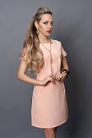 Легкое платье с коротким рукавом