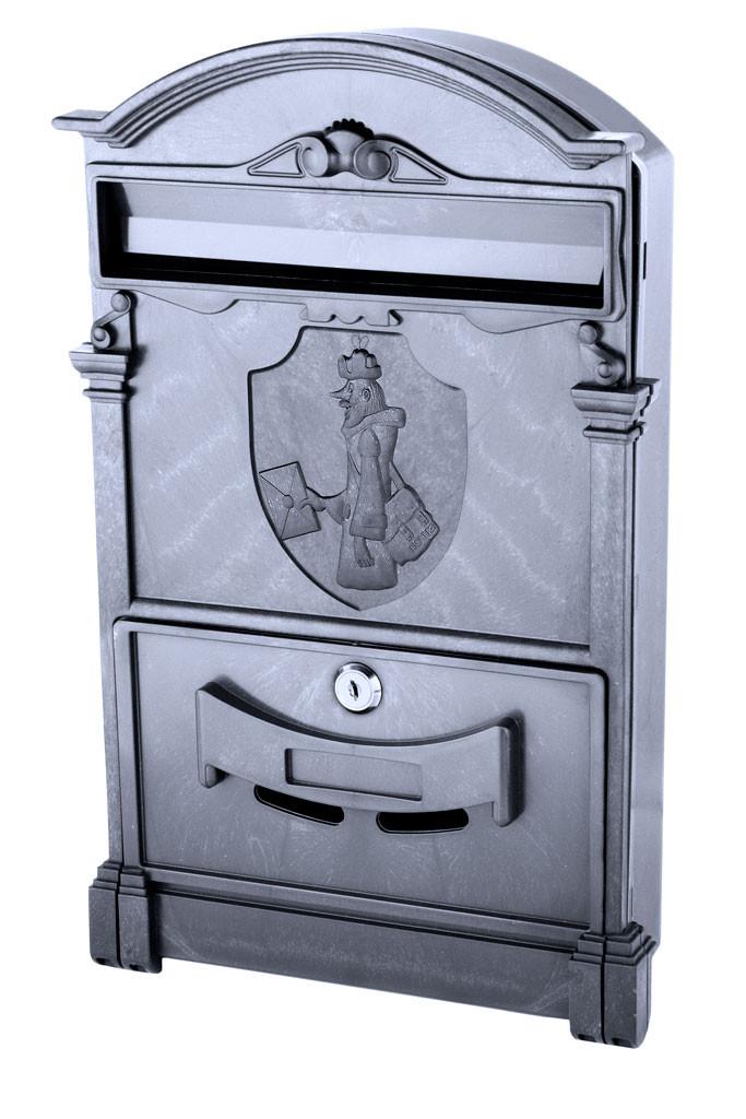 Почтовый ящик Vita цвет чёрный Почтальон Печкин