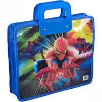 Сумка-портфель детская А4, пластиковая / SpiderMan