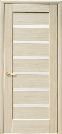 Межкомнатные двери Новый Стиль Линнея белое стекло, фото 2