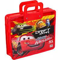 Сумка-портфель детская А4, пластиковая / Тачки (Cars)