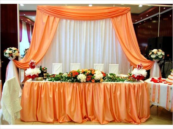 Задний фон на свадьбе фото